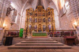 Retablo de Luis de Morales, El-Divino, en la Iglesia de Ntra. Sra. de la Asunción