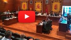 En directo el pleno del Ayuntamiento de Arroyomolinos