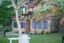 La casa rural desde el jardín