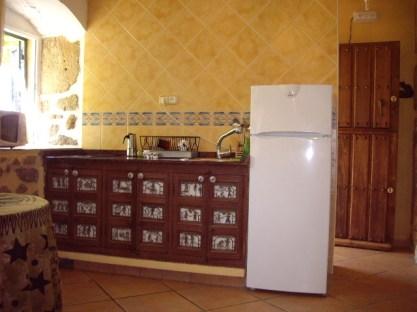 Apartamento rural con cocina
