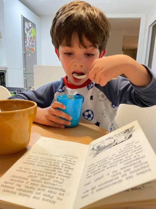 Club de lectura del yogur