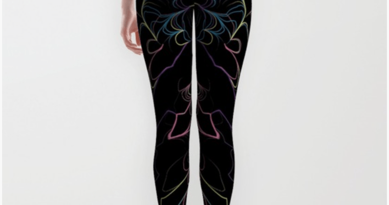 Patterns now available on leggings!