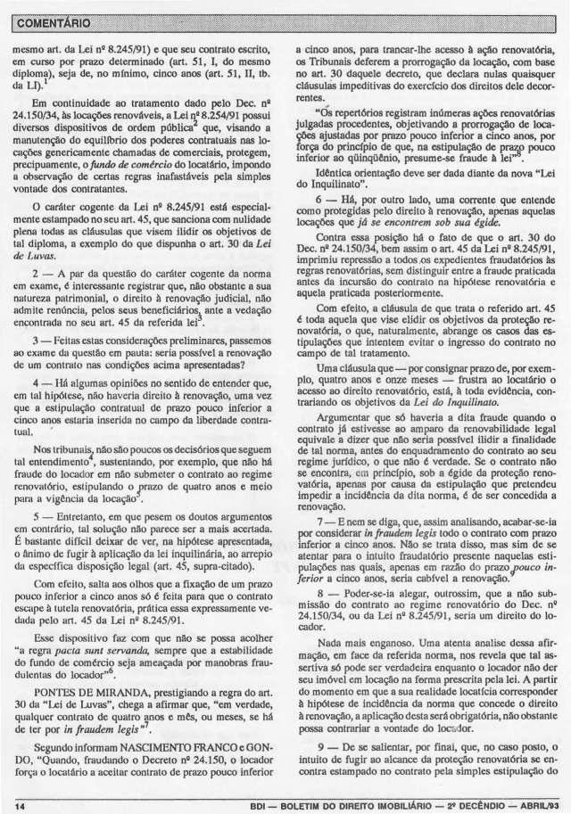 1993-04_DoDireiroàRenovaçãoNosContratosdeLocaçãoComPrazoPoucoInferioraCincoAnos_1_Página_2