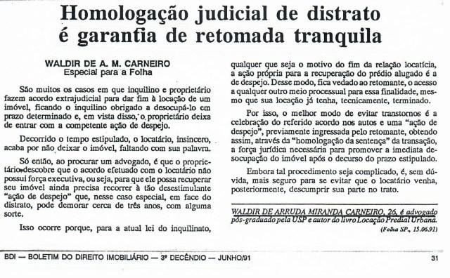 1991-06_HomologaçãoJudicialdeDistratoéGarantiadeRetomadaTranquila_EDITADO