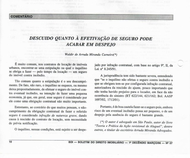 (1996-03-10)_DescuidoQuantoaEfetdeSeguroPodeAcabaremDepejo
