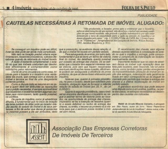 (1996-10-01)_CautelasNecessariasaRetomada