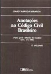 Anotações ao Código Civil Brasileiro