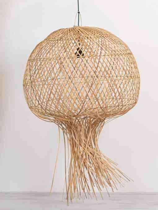 Rotan hanglamp de Kwal Ars Longa