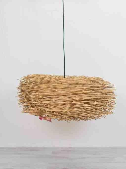 Rotan hanglamp het vogelnest Ars Longa