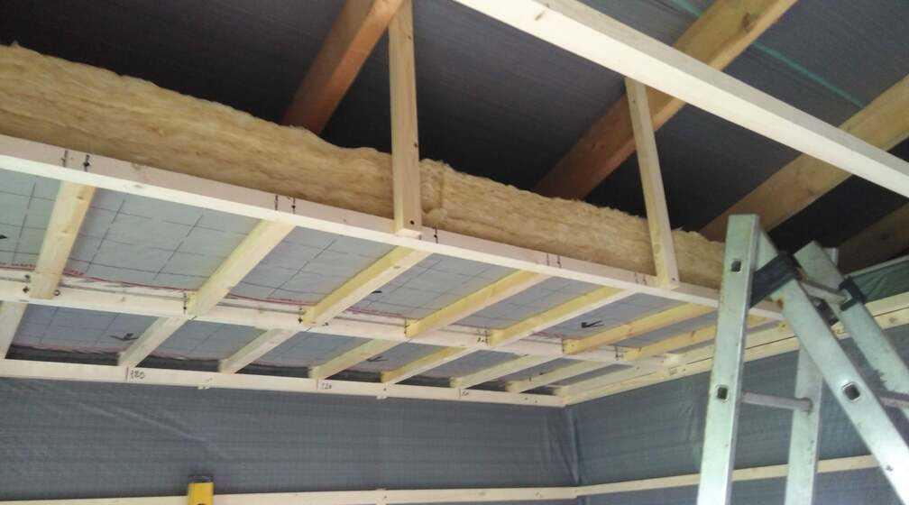 Строительство садового домика с хозблоком
