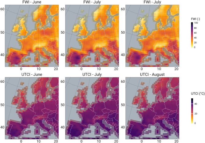 Global fire map and data. Mapping Combined Wildfire And Heat Stress Hazards To Improve Evidence Based Decision Making Sciencedirect