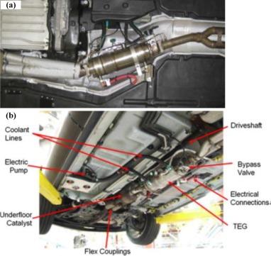 automotive exhaust thermoelectric