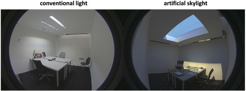 artificial skylight effects in a