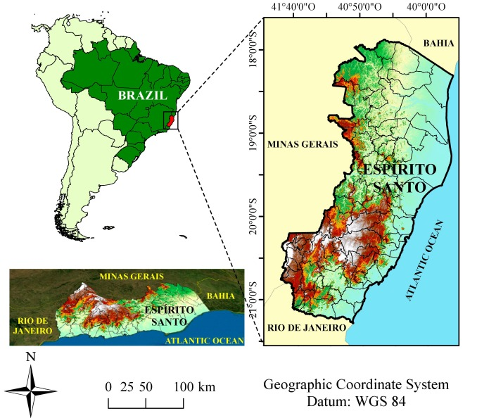 The woolly spider monkey is among other primate species in the atlantic forest patches that suffered a population loss due to yellow fever. Climate Change Impacts On The Aptitude Area Of Forest Species Sciencedirect