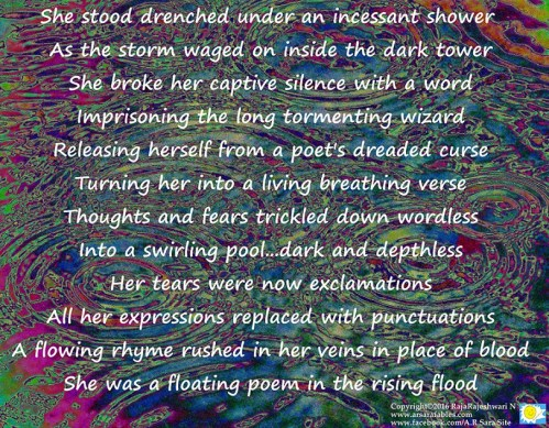 A floating poem   A.R Sara