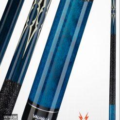 Griffin GR54 Black w// Turquoise /& White Teardrop Points Pool//Billiards Cue Stick