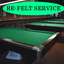 pool table refelt
