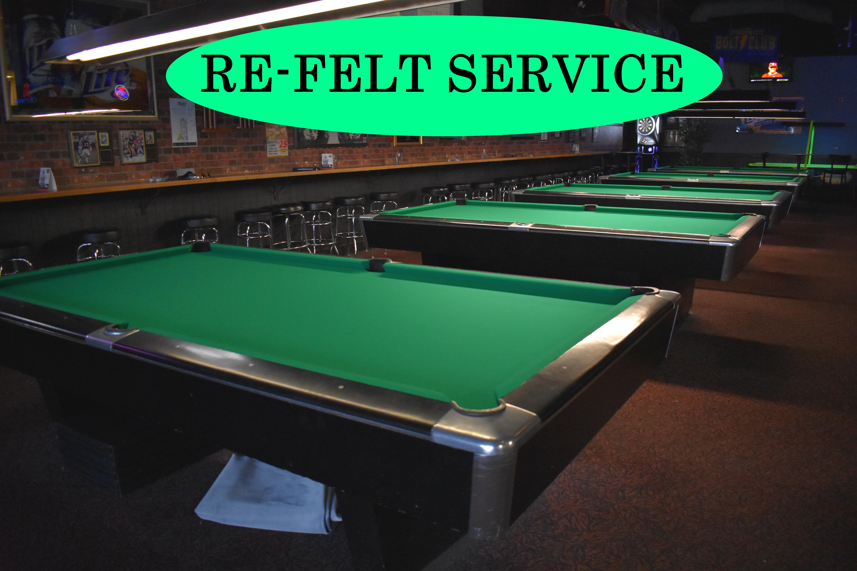 pool table refelt