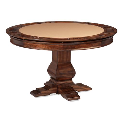 Darafeev Amerigo Poker Dining Table w/ Bumper Pool option
