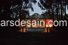 a Bridge-like pavilion