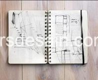 Saat desain tak kunjung selesai, teruskan proses Sketsa