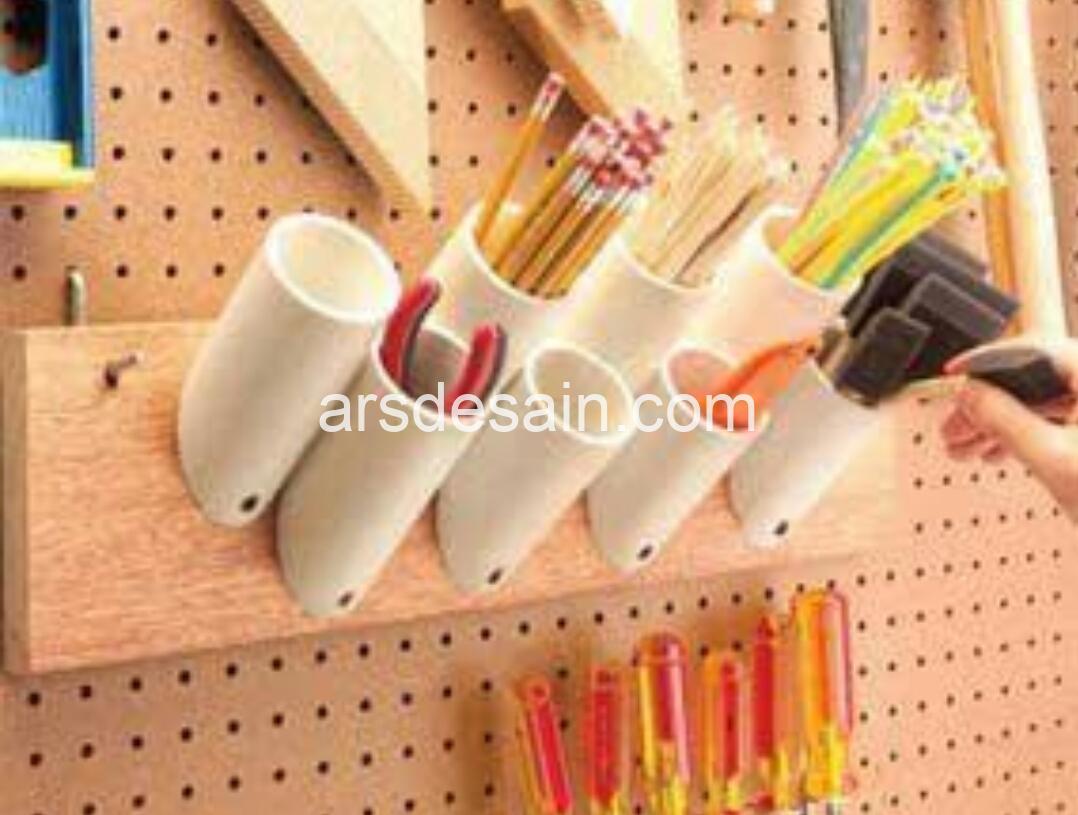 Desain Kreatif Pipa PVC yang relatif murah dan mudah didapat
