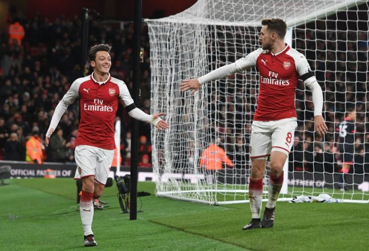 Ozil and Ramsey