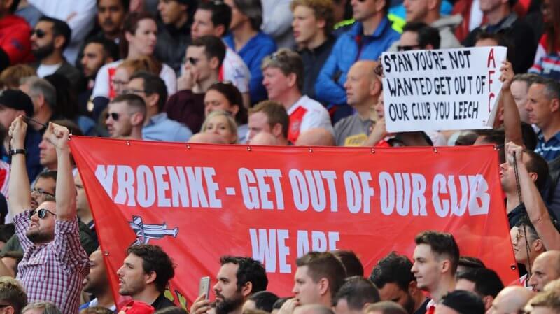 Arsenal fans, Kroenke
