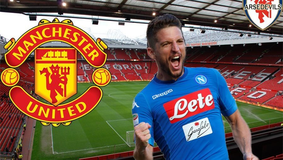 Mertens, Manchester United transfer, Dries Mertens to Man Utd