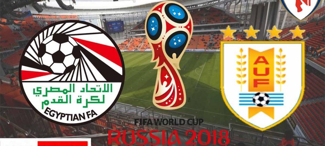 Egypt Vs Uruguay, FIFA World Cup 2018, Russia