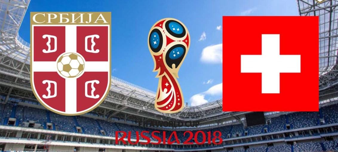 Serbia Vs Switzerland, FIFA World Cup 2018, Russia