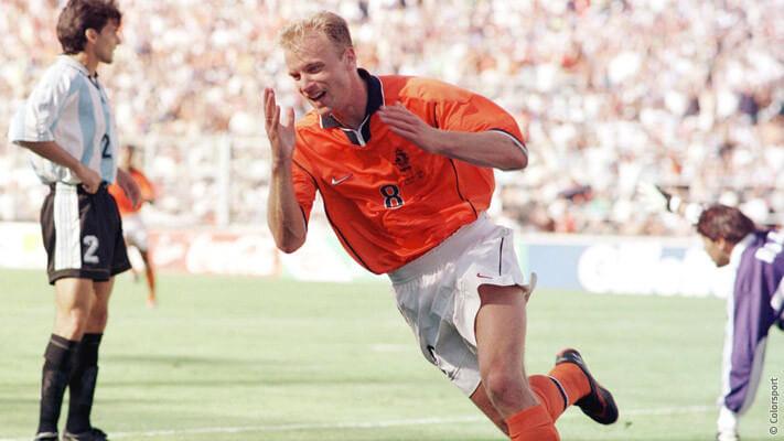 dennis bergkamp vs argentina 1998