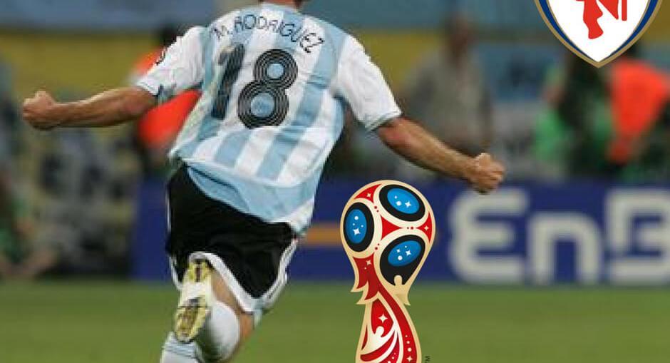 Maxi Rodriguez vs Mexico 2006, Maxi Rodriguez argentina