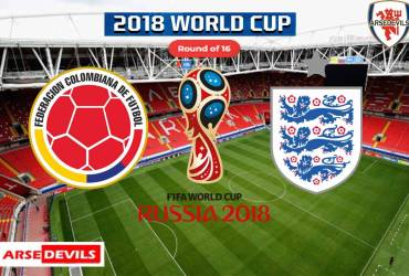 Colombia Vs England, FIFA World Cup 2018, Russia