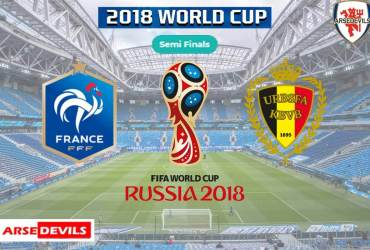 France Vs Belgium, FIFA World Cup 2018, Russia