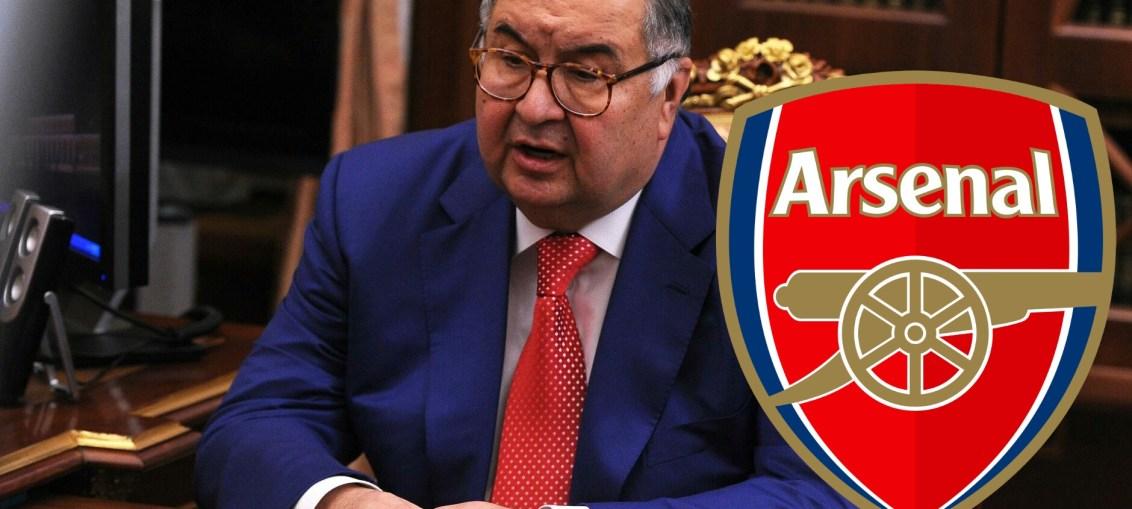 Usmanov, Arsenal stakes, Usmanov to sell Arsenal stakes