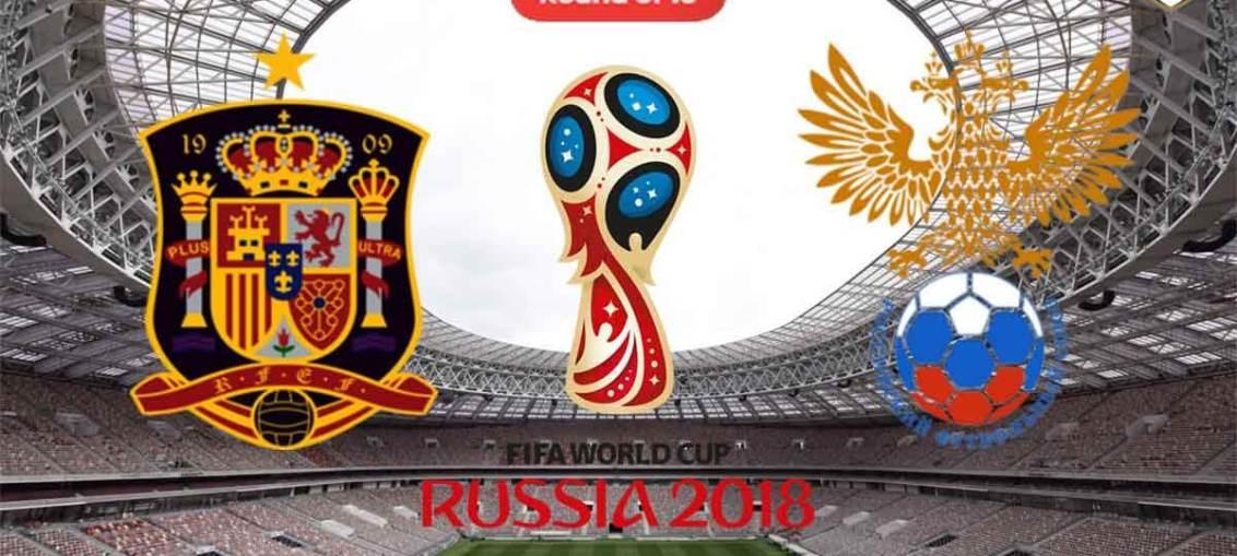 Spain Vs Russia, FIFA World Cup 2018, Russia