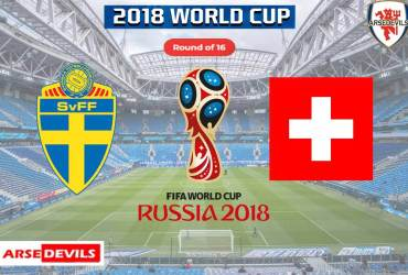 Sweden Vs Switzerland, FIFA World Cup 2018, Russia