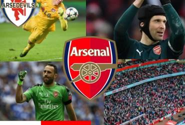 Petr Cech, David Ospina, Arsenal Goalkeepers, Bernd Leno