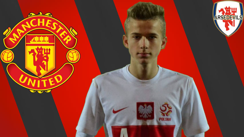Lukasz Bejger, Manchester United Youth Team
