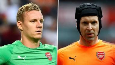 Leno Cech Goalkeeper battle for Arsenal