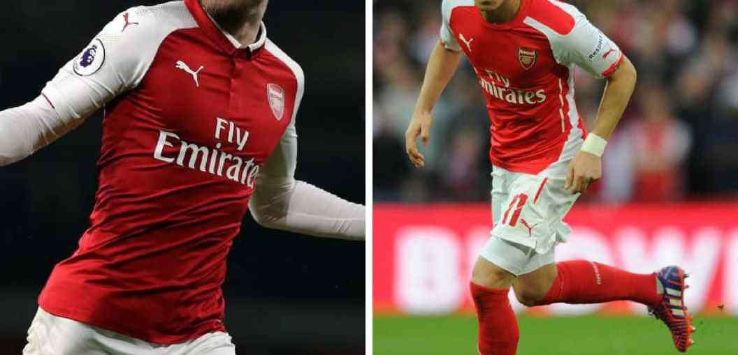 Ramsey, Ramsey Contract Extension, Ozil