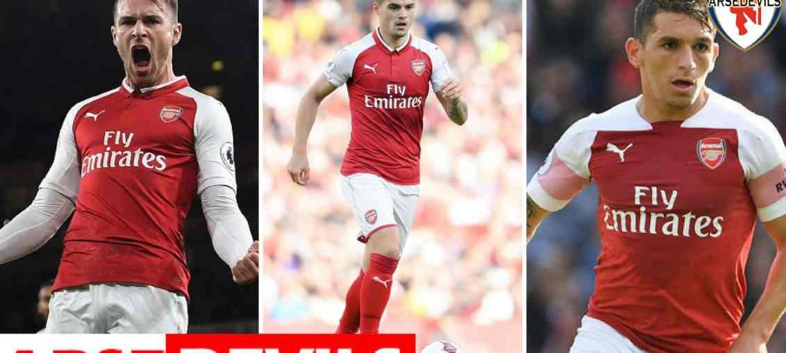 West Ham United, Lucas Torreira, Aaron Ramsey, Granit Xhaka