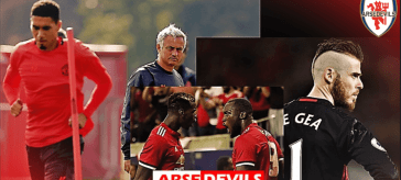 jose Mourinho has lost it, academy players