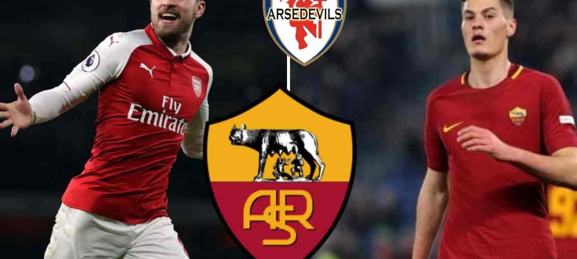 AS Roma, Ramsey swap deal, Ramsey Schick swap deal,