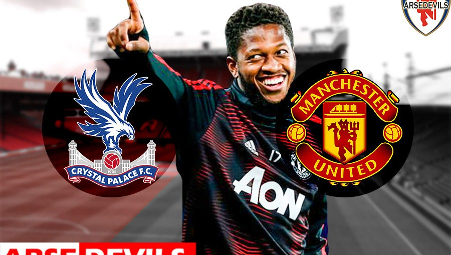 Fred, Crystal Palace Vs United