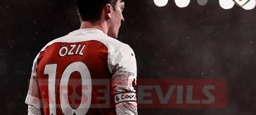 Ozil and Kolasinac, Ozil