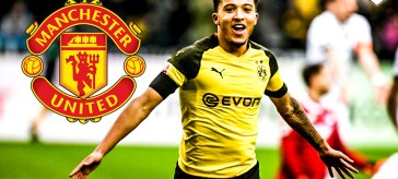 Sancho, Jadon Sancho, Sancho linked to United