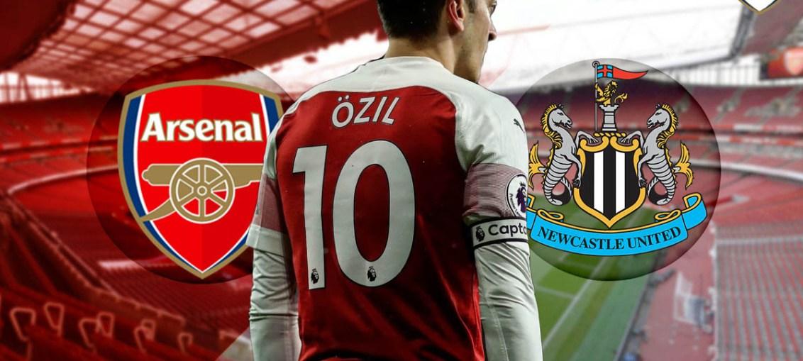 Arsenal Vs Newcastle United, Mesut Ozil, Ozil