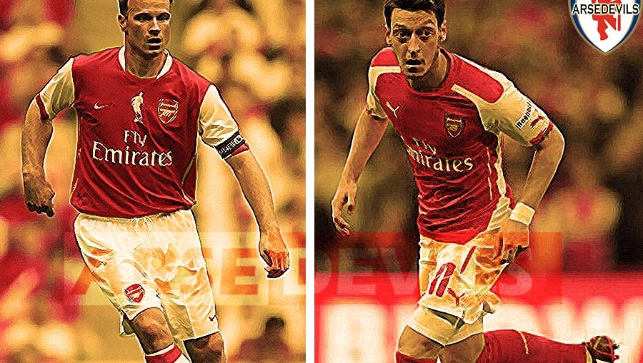 Denis Bergkamp, Robert Pires compares Ozil and Bergkamp
